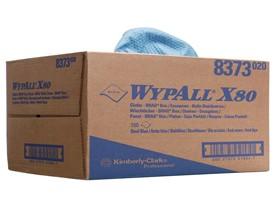 Putztücher Wypall X90 blau, BragBox 42.7 x 31 cm,