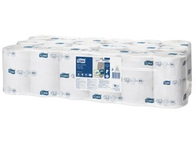 WC-Papier Tork Midi, Tissue, weiss (T7) 2-lagig, 800 Coupons (12.5 x 9.3 cm)