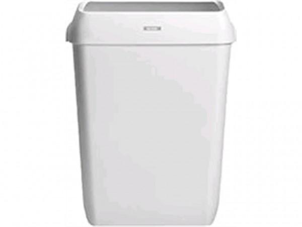 Abfallbehälter Katrin 50 Lt., Kunststoff weiss, 575 x 420 x 280 mm,