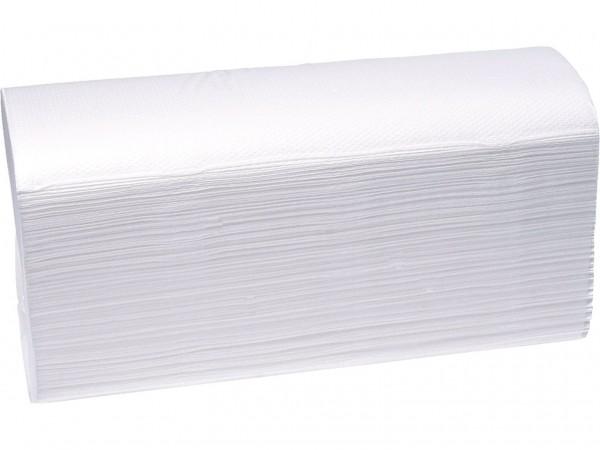 Papierhandtücher 2-lagig Zellstoff weiss
