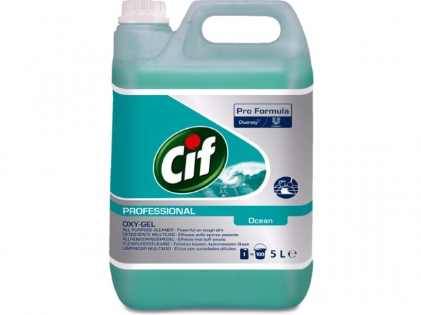 Cif Prof. Business Solutions Oxy-Gel Ocean, 2x5L