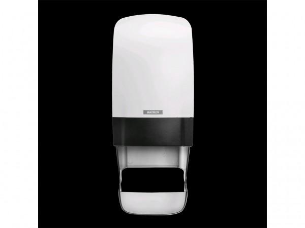 WC-Papier Spender Katrin, Kunststoff weiss, 402 x 154 x 174 mm, für
