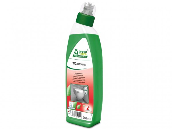WC-Reiniger WC natural, 10 x 750 ml, Schräghalsflasche, ökologisch