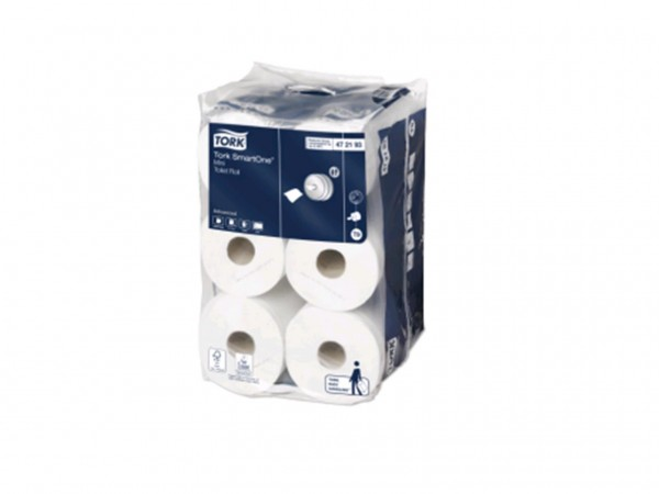 WC-Papier Tork Mini Smart One, Tissue (T9), 2-lagig, 13.4 x 14.9cm,