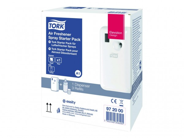 Tork Starter Pack Duftspender mit 3 verschiedenen Duftpatronen