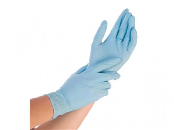 Nitril-Handschuhe Grösse L, blau, puderfrei 10 x 100 Stck