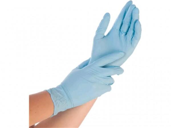 Nitril-Handschuhe Grösse S, blau, puderfrei 10 x 100 Stck
