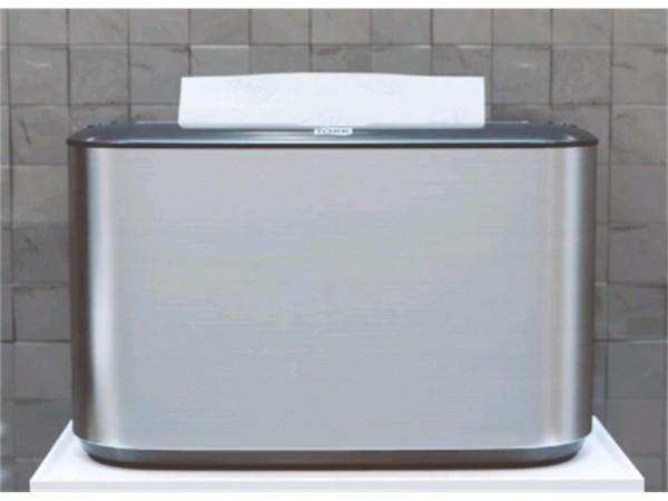 Handtuch-Tischspender Tork Multifold, Edelstahl, H218 x B323 x T116 mm,