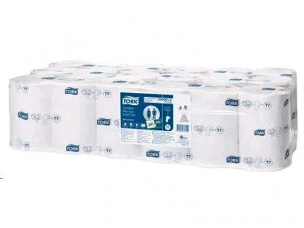 WC-Papier Compact enSure, 2-lagig, weiss, Tissue, 900 Coupon, ohne Hülse,