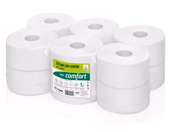 WC-Papier Jumbo Mini Recycling 2-lagig