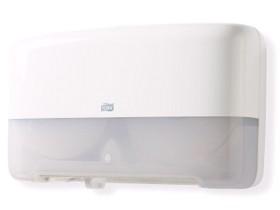 Tork Doppelrollenspender für Mini Jumbo Toilettenpapier, B432 x H256 x T146 mm