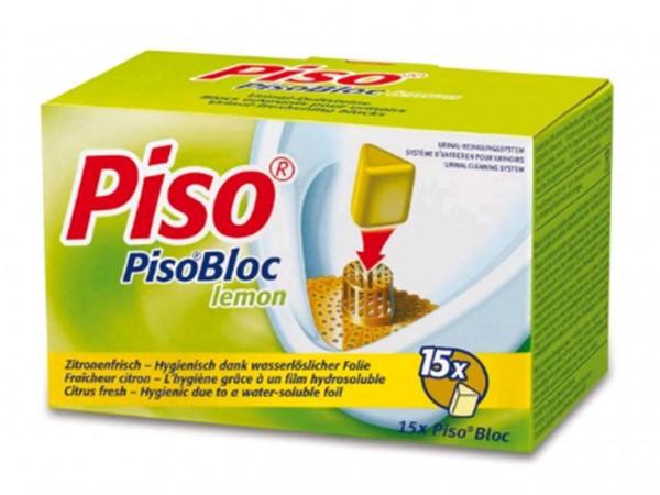 Piso-Spühlsteine, zitronenfrisch, 15 x 40 gr