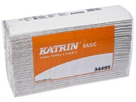 Falthandtücher Katrin Basic C-Falz, 100% Recycling, 2-lagig, 33 x 24 cm,