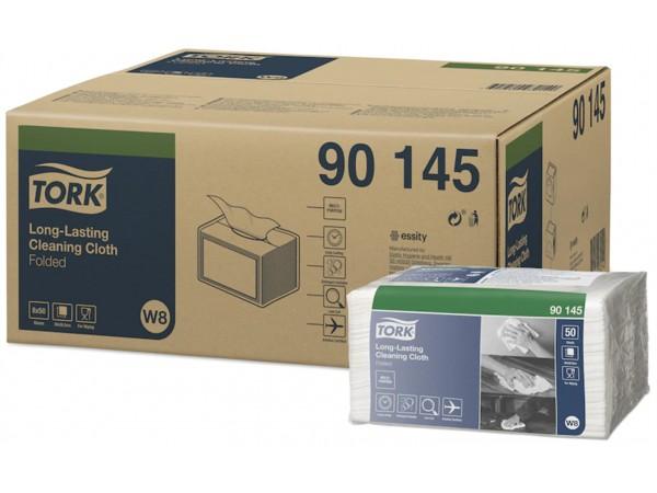 Tork Reinigungstücher W8 - Small Pack weiss, 1-lagig, 50 Blatt, 38.5 x 30 cm