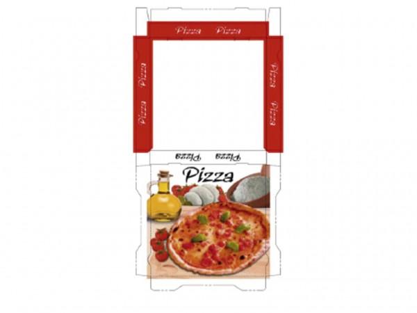 Pizzakarton 30 x 30 x 3 cm Qualität Kraft 1209, Neutraldruck