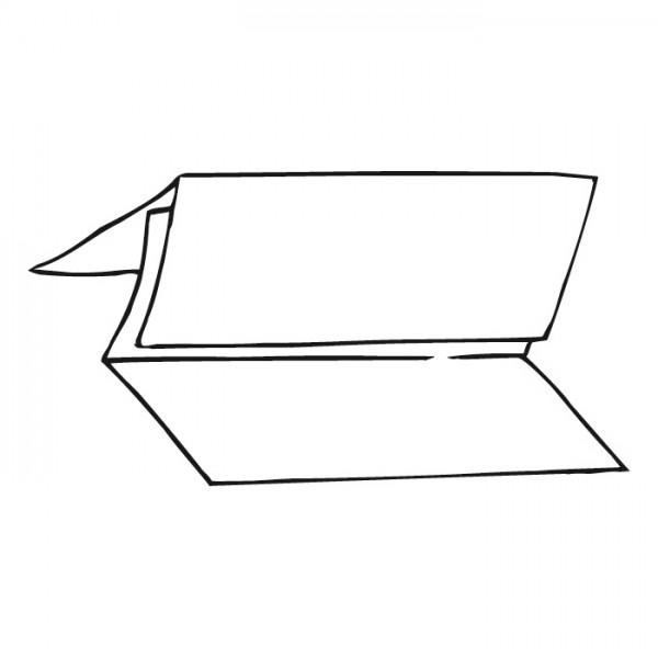 Falthandtücher V-Falzung,2-lagig, 24x21 cm,hochweiss, Zellstoff,(3990 Bl)