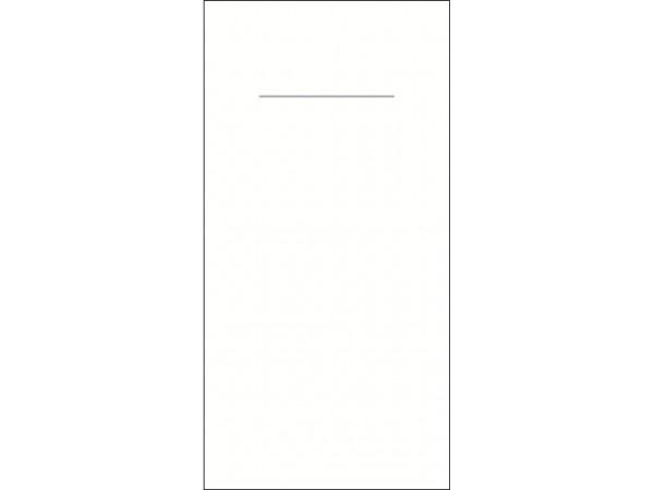 Bestecktasche, 60 gm2, 40 x 40 cm, weiss