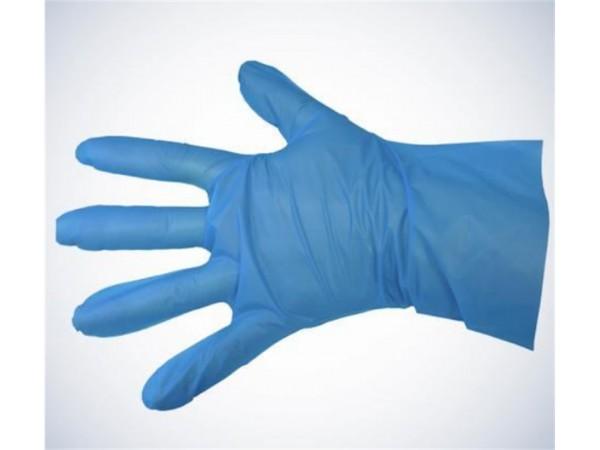 Einweghandschuhe TPE blau, Grösse XL
