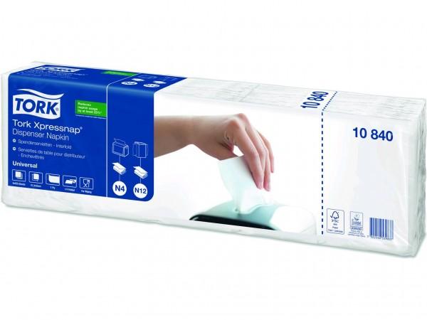 Spenderservietten 1-lagig Tissue, 21.6 x 33 cm