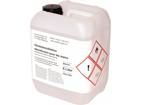 Hände-Desinfektionsmittel Exrtra, 5 Liter