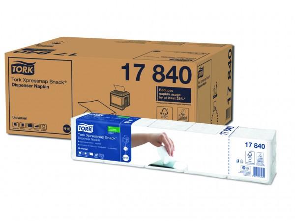 Spenderservietten 1-lagig Tissue, 21.6 x 21.3 cm