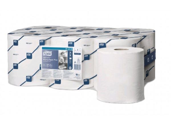 Putztuchrollen Tork Relflex TM, Tissue weiss, 2-lagig, 19.4 cm x 150.8 lfm,