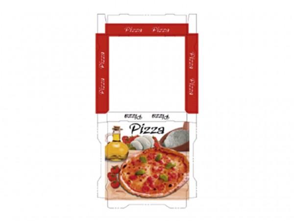 Pizzakarton 50 x 50 x 5 cm Qualität Kraft 1209, Neutraldruck