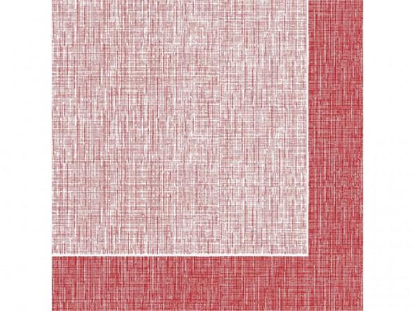 Servietten Spanlin, 40 x 40 cm 1/4 Falz, Hans BORDEAUX