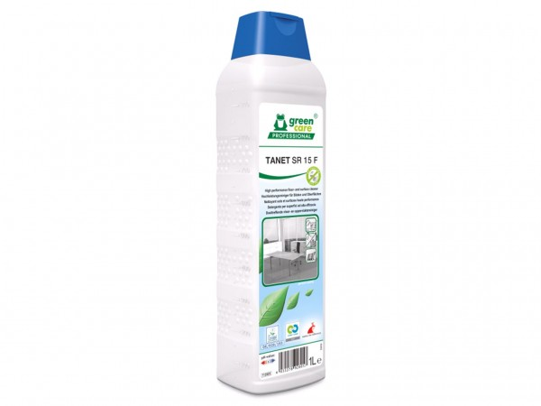 TANET SR 15 F, Hochleistungsreiniger für Boden und Oberflächen, farbstofffrei