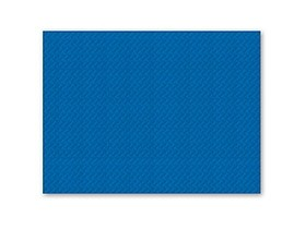 Tischset 1-lagig, 30 x 40 cm, blau geprägt, gerader Rand