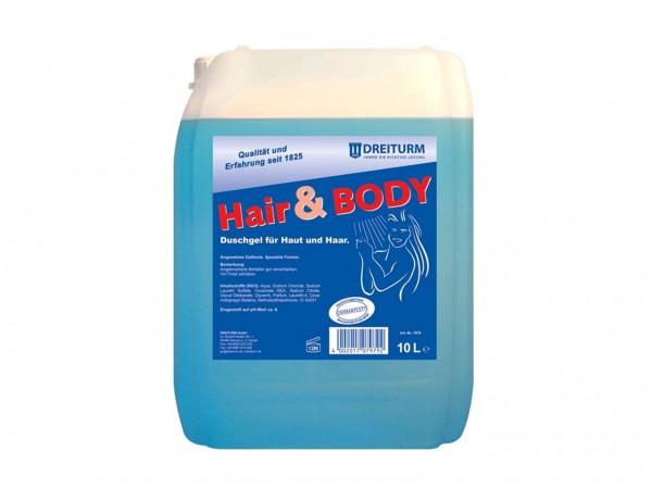 Duschgel HAIR & BODY, für Körper und Haar, ph-neutral, extramild