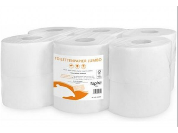 WC-Papier Mini Jumbo Tapira Plus, 12 Rollen